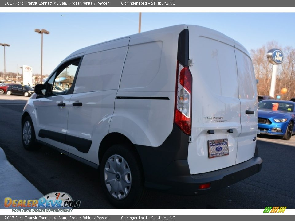 2017 Ford Transit Connect XL Van Frozen White / Pewter Photo #17
