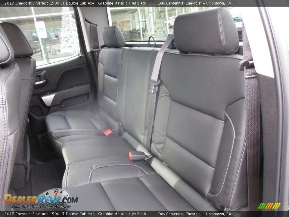 2017 Chevrolet Silverado 1500 LT Double Cab 4x4 Graphite Metallic / Jet Black Photo #13