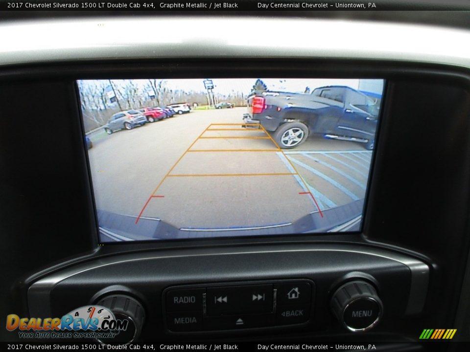2017 Chevrolet Silverado 1500 LT Double Cab 4x4 Graphite Metallic / Jet Black Photo #17