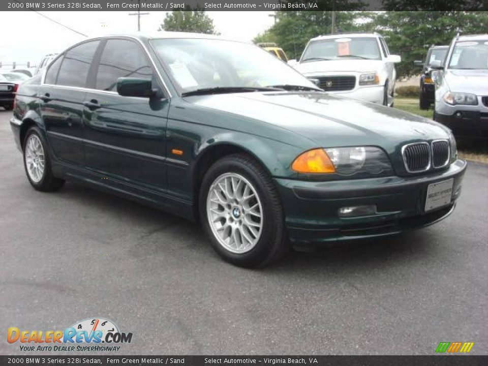 2000 bmw 3 series 328i sedan fern green metallic sand photo 8. Black Bedroom Furniture Sets. Home Design Ideas