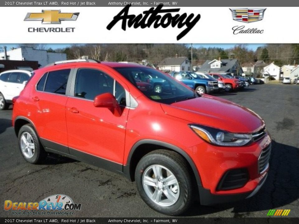 2017 Chevrolet Trax LT AWD Red Hot / Jet Black Photo #1