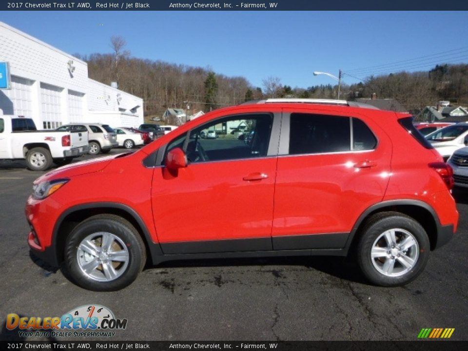 2017 Chevrolet Trax LT AWD Red Hot / Jet Black Photo #3