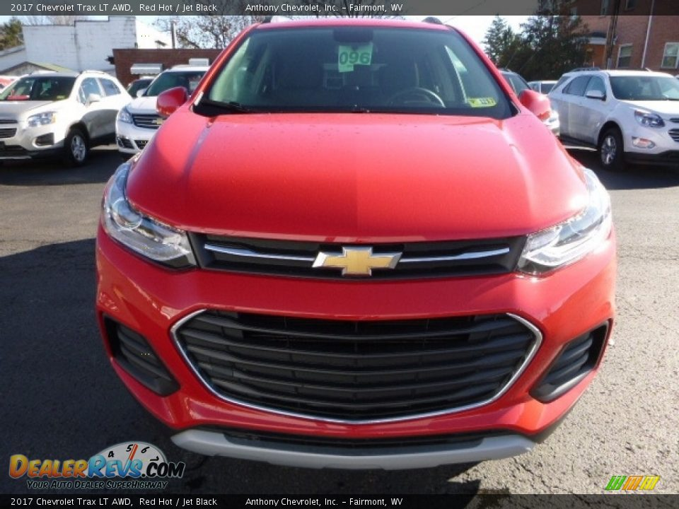 2017 Chevrolet Trax LT AWD Red Hot / Jet Black Photo #10