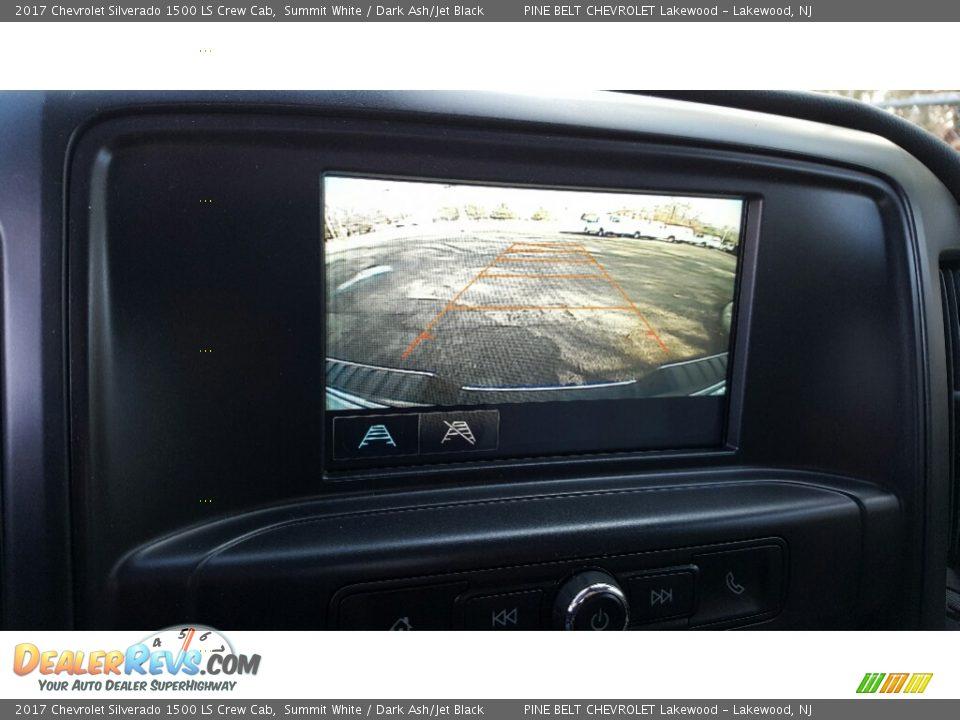 2017 Chevrolet Silverado 1500 LS Crew Cab Summit White / Dark Ash/Jet Black Photo #10