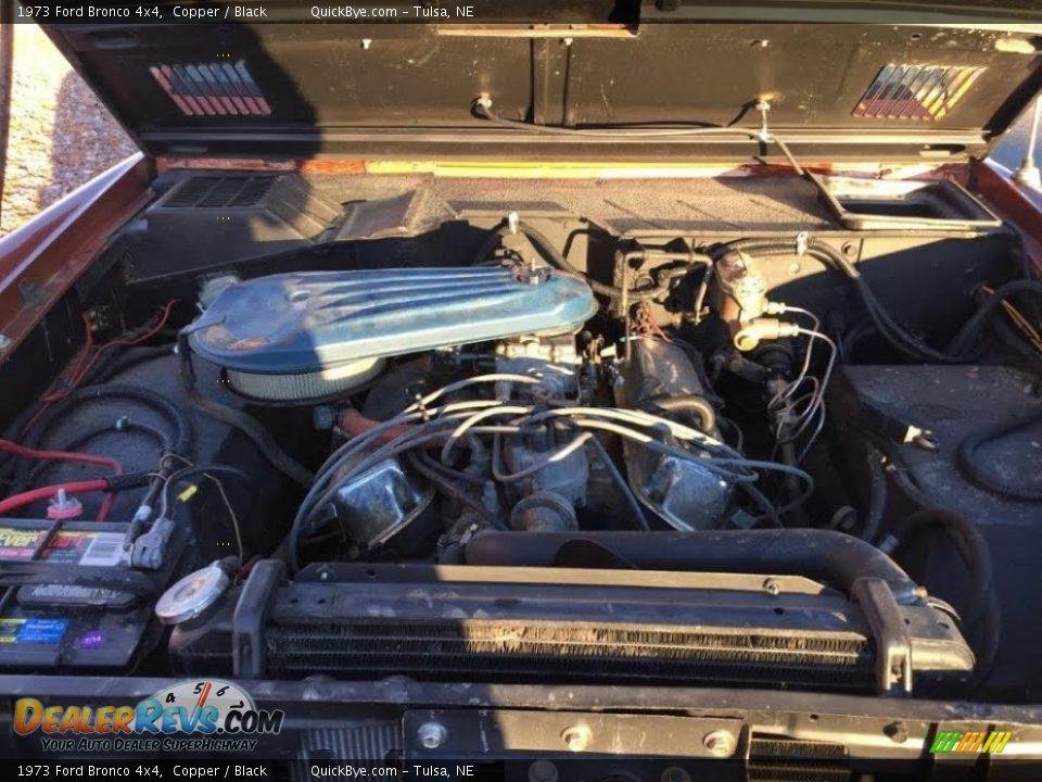 1973 Ford Bronco 4x4 Copper / Black Photo #24