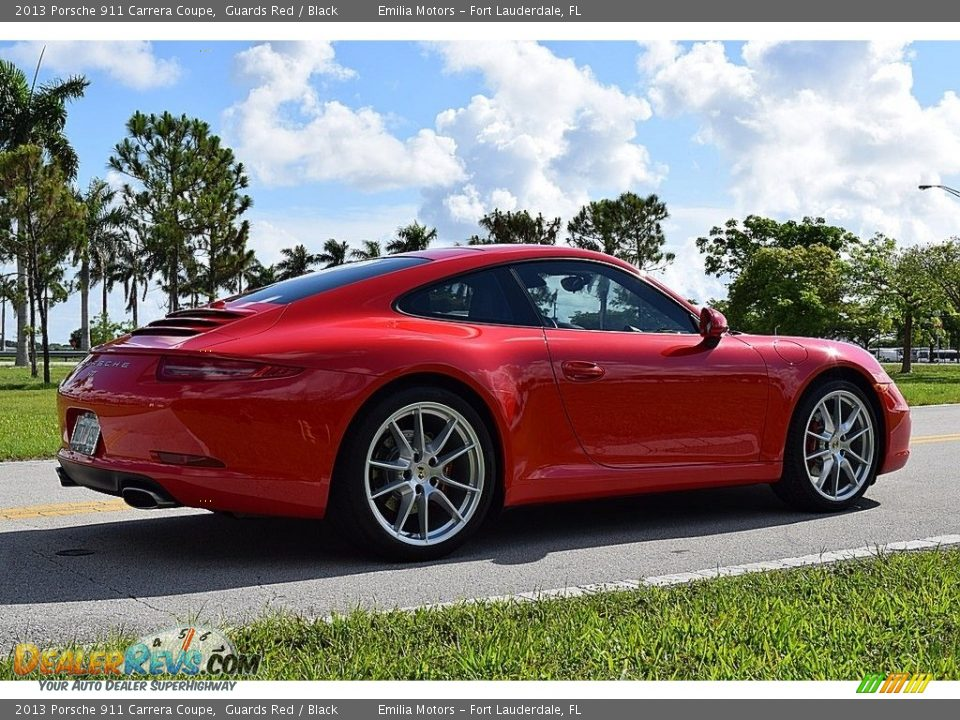 2013 Porsche 911 Carrera Coupe Guards Red / Black Photo #13