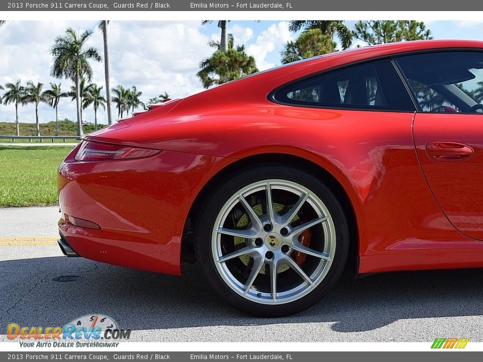 2013 Porsche 911 Carrera Coupe Guards Red / Black Photo #29