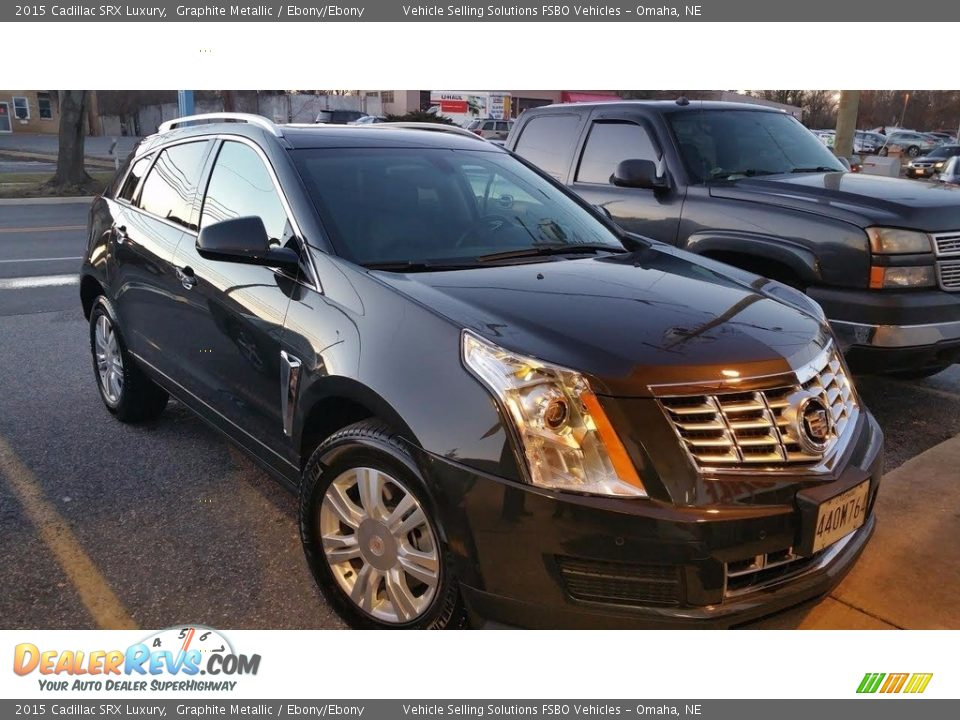 2015 Cadillac SRX Luxury Graphite Metallic / Ebony/Ebony Photo #1