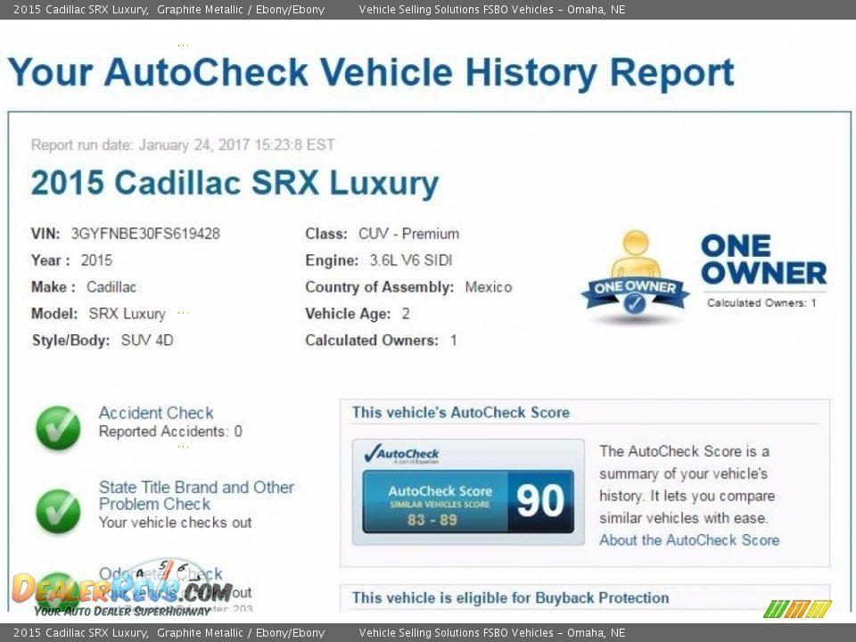 Dealer Info of 2015 Cadillac SRX Luxury Photo #2