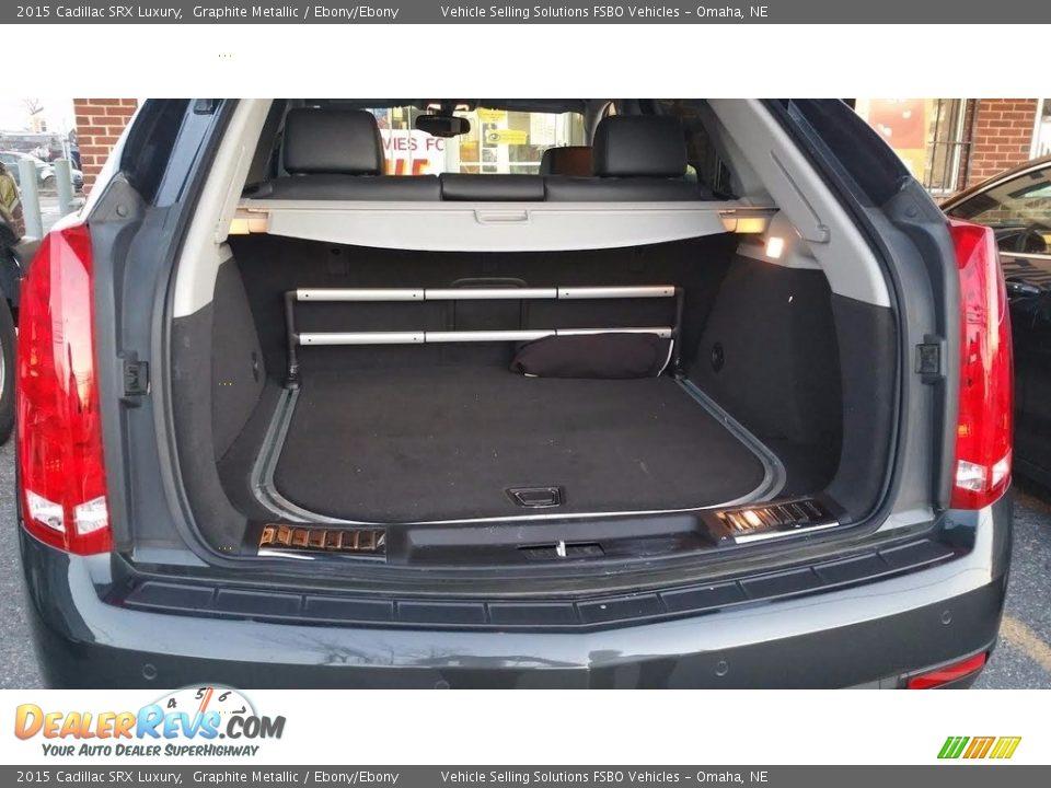2015 Cadillac SRX Luxury Graphite Metallic / Ebony/Ebony Photo #5