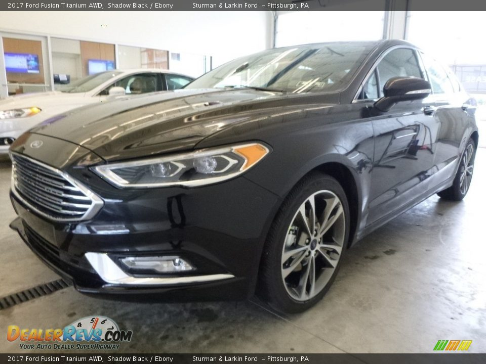 2017 Ford Fusion Titanium AWD Shadow Black / Ebony Photo #5
