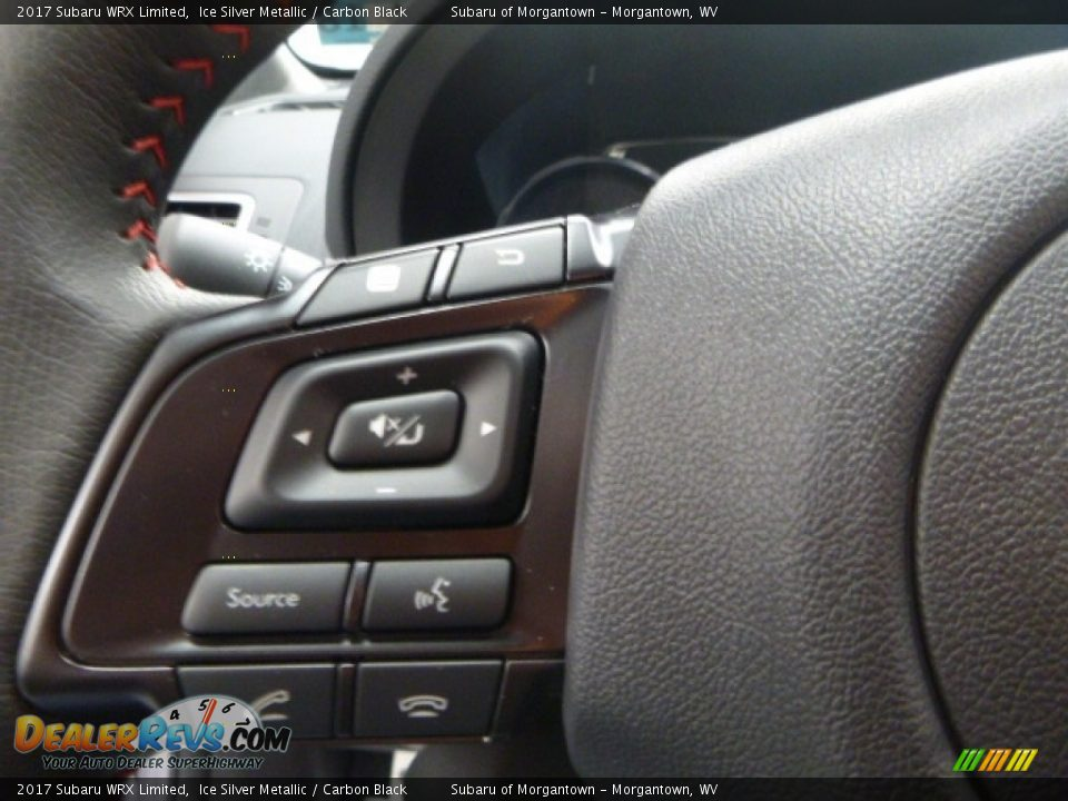 2017 Subaru WRX Limited Ice Silver Metallic / Carbon Black Photo #19