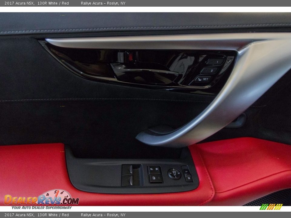 2017 Acura NSX 130R White / Red Photo #24