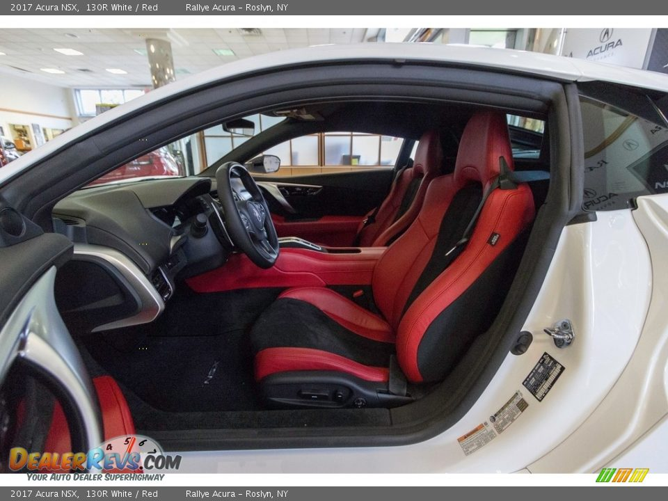 Front Seat of 2017 Acura NSX  Photo #26