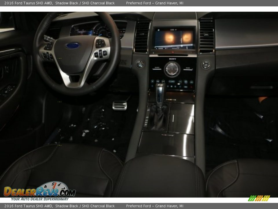 2016 Ford Taurus SHO AWD Shadow Black / SHO Charcoal Black Photo #2