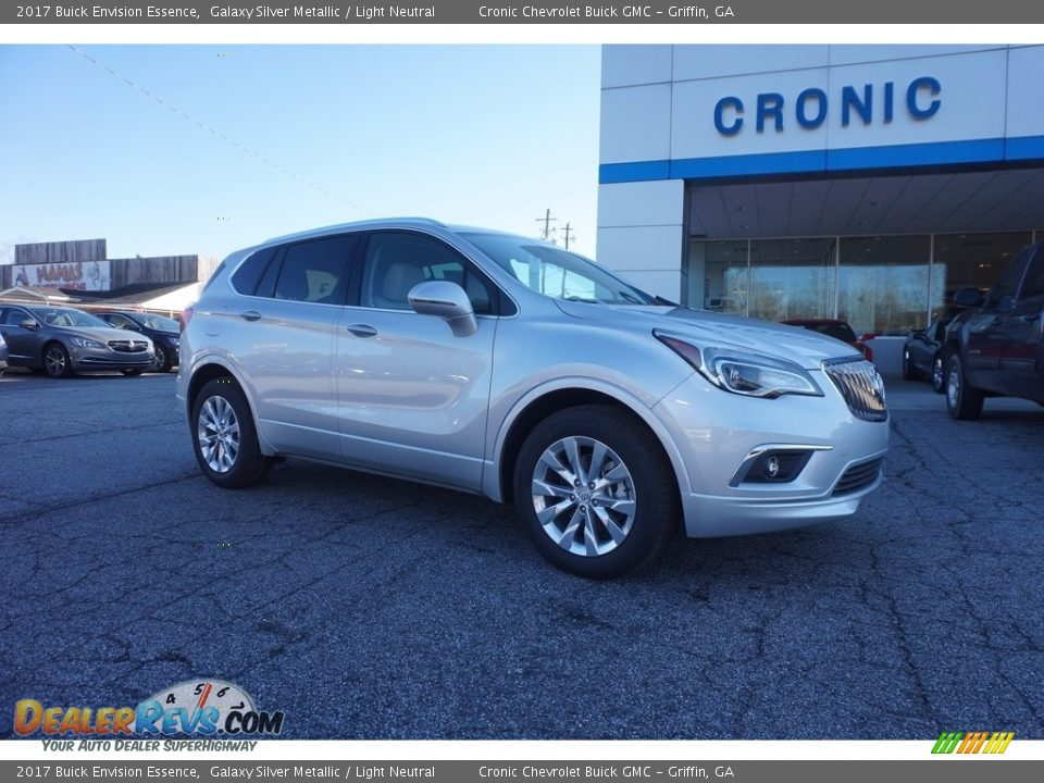 2017 Buick Envision Essence Galaxy Silver Metallic / Light Neutral Photo #1