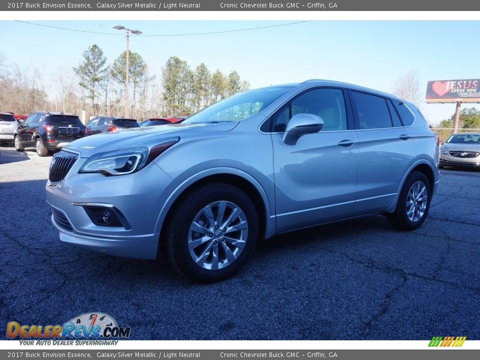 2017 Buick Envision Essence Galaxy Silver Metallic / Light Neutral Photo #3