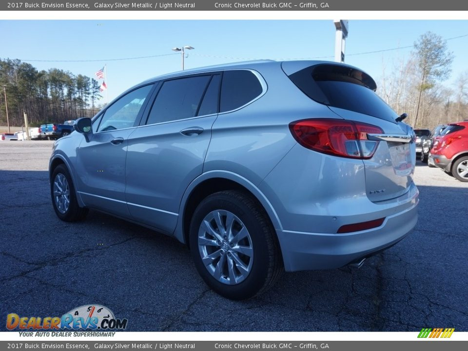 2017 Buick Envision Essence Galaxy Silver Metallic / Light Neutral Photo #5