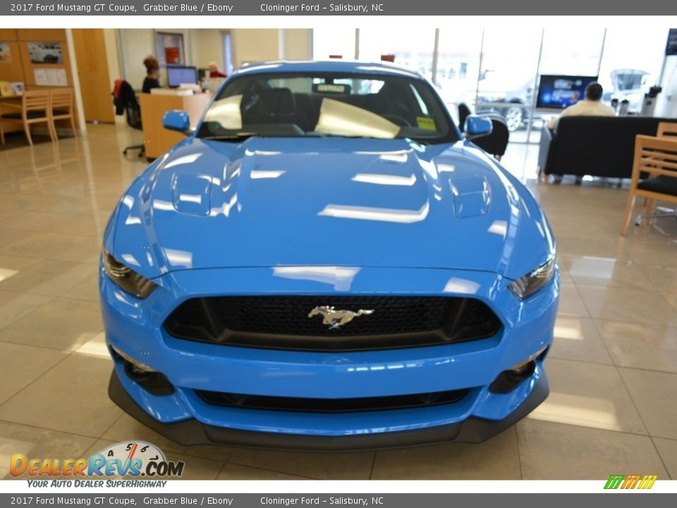 2017 Ford Mustang GT Coupe Grabber Blue / Ebony Photo #4
