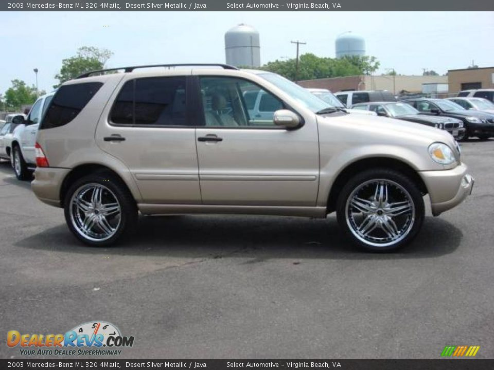 2003 mercedes benz ml 320 4matic desert silver metallic java photo 7. Black Bedroom Furniture Sets. Home Design Ideas