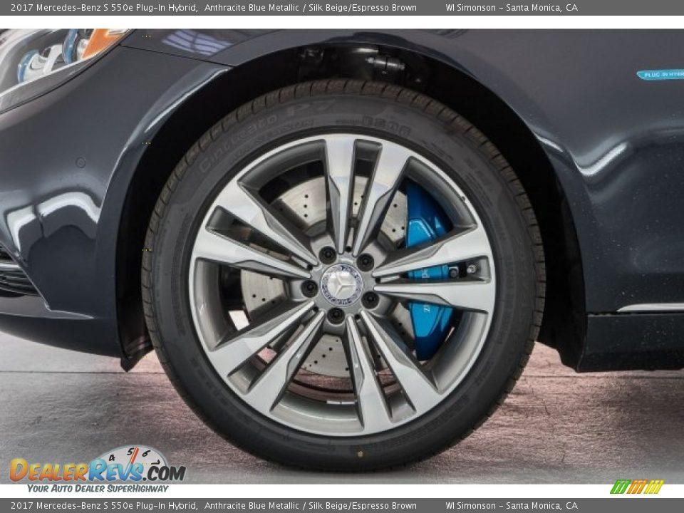 2017 Mercedes-Benz S 550e Plug-In Hybrid Wheel Photo #10