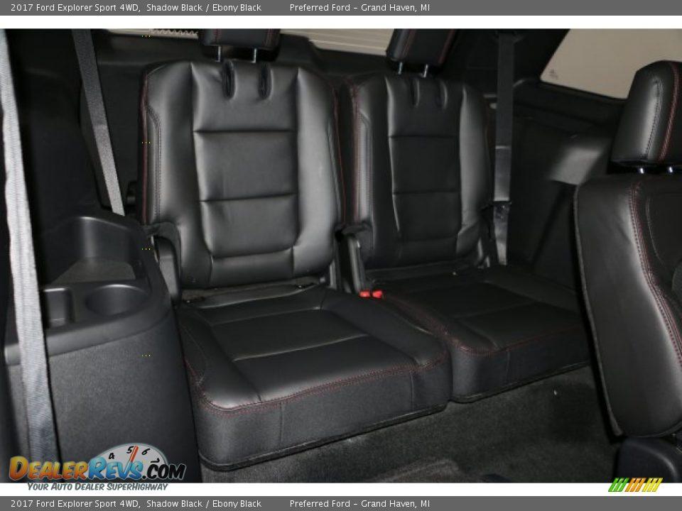 2017 Ford Explorer Sport 4WD Shadow Black / Ebony Black Photo #7