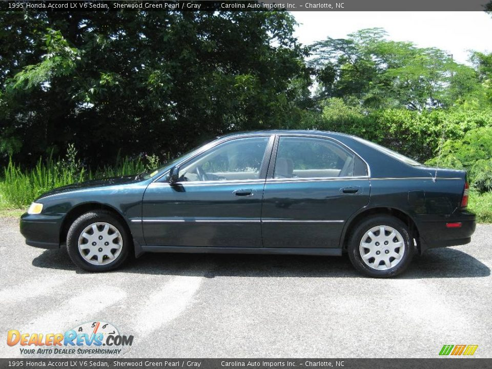 1995 Honda Accord Lx V6 Sedan Sherwood Green Pearl Gray