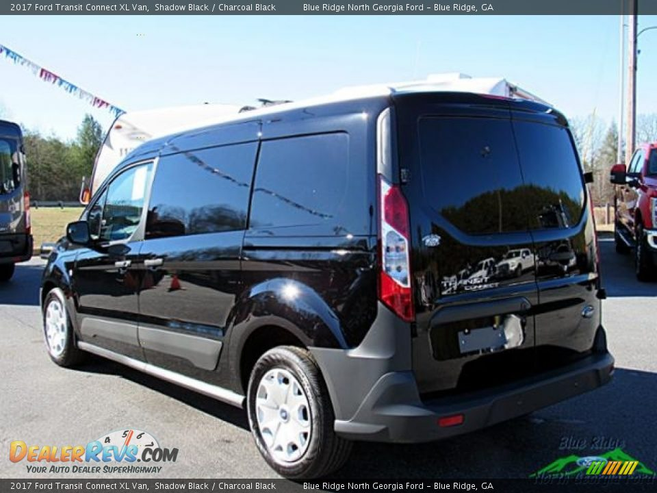 2017 Ford Transit Connect XL Van Shadow Black / Charcoal Black Photo #3