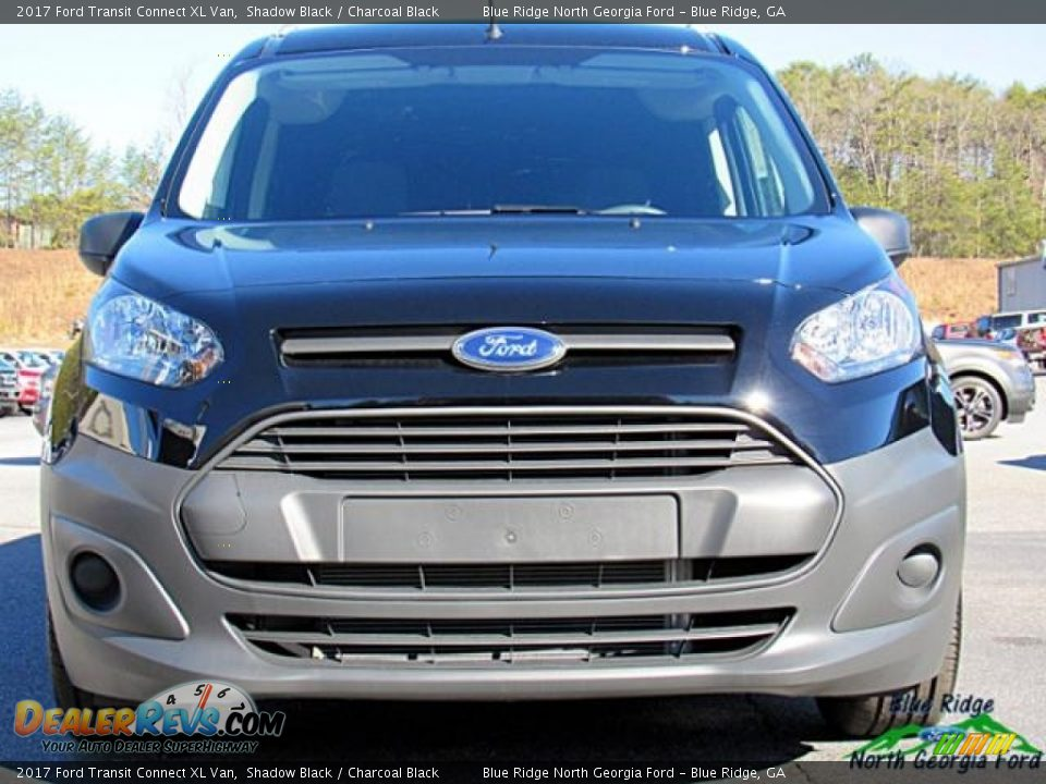 2017 Ford Transit Connect XL Van Shadow Black / Charcoal Black Photo #4