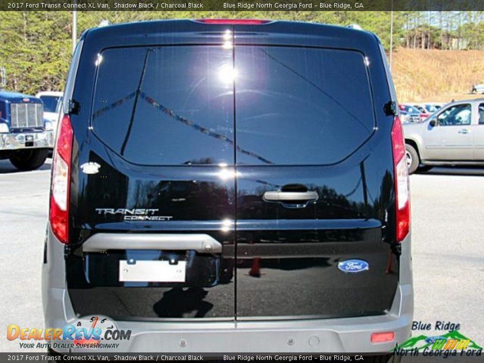 2017 Ford Transit Connect XL Van Shadow Black / Charcoal Black Photo #5
