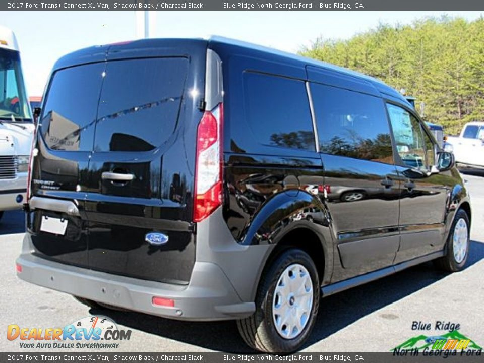 2017 Ford Transit Connect XL Van Shadow Black / Charcoal Black Photo #6