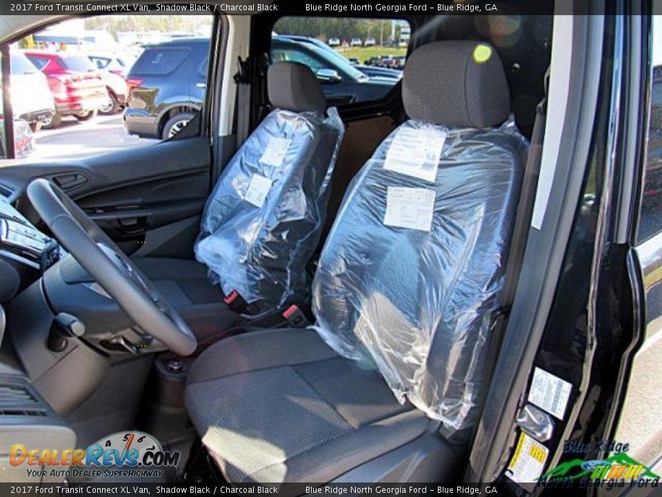 2017 Ford Transit Connect XL Van Shadow Black / Charcoal Black Photo #13