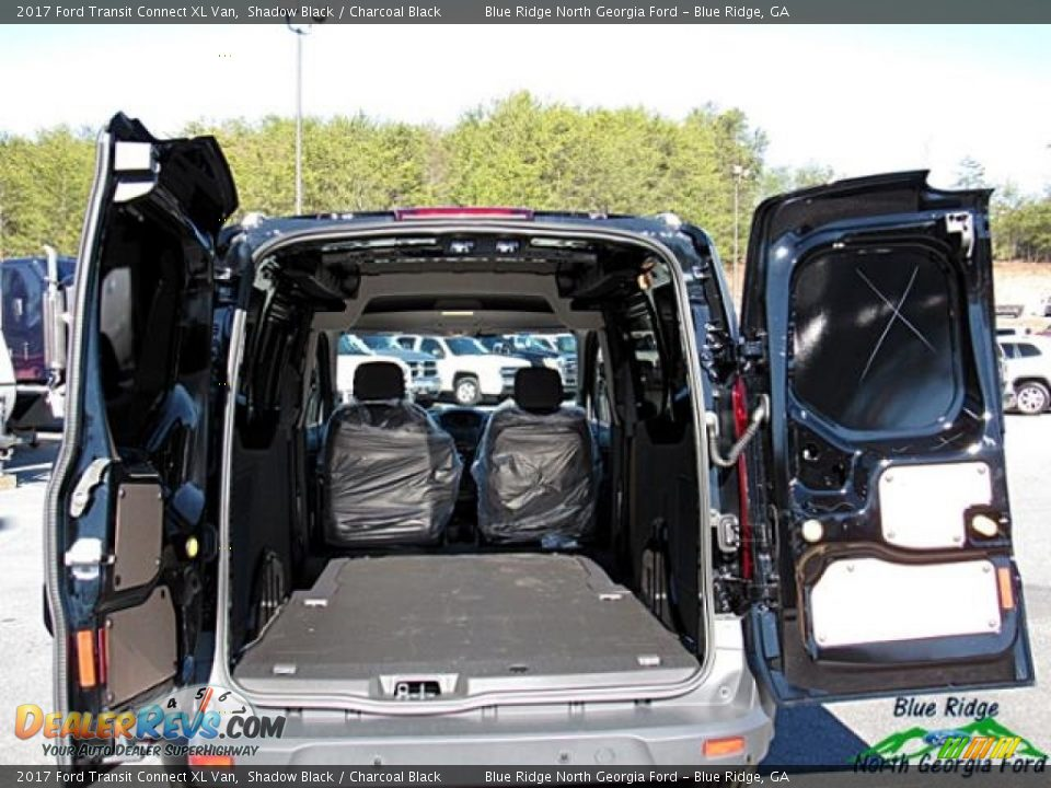 2017 Ford Transit Connect XL Van Shadow Black / Charcoal Black Photo #23