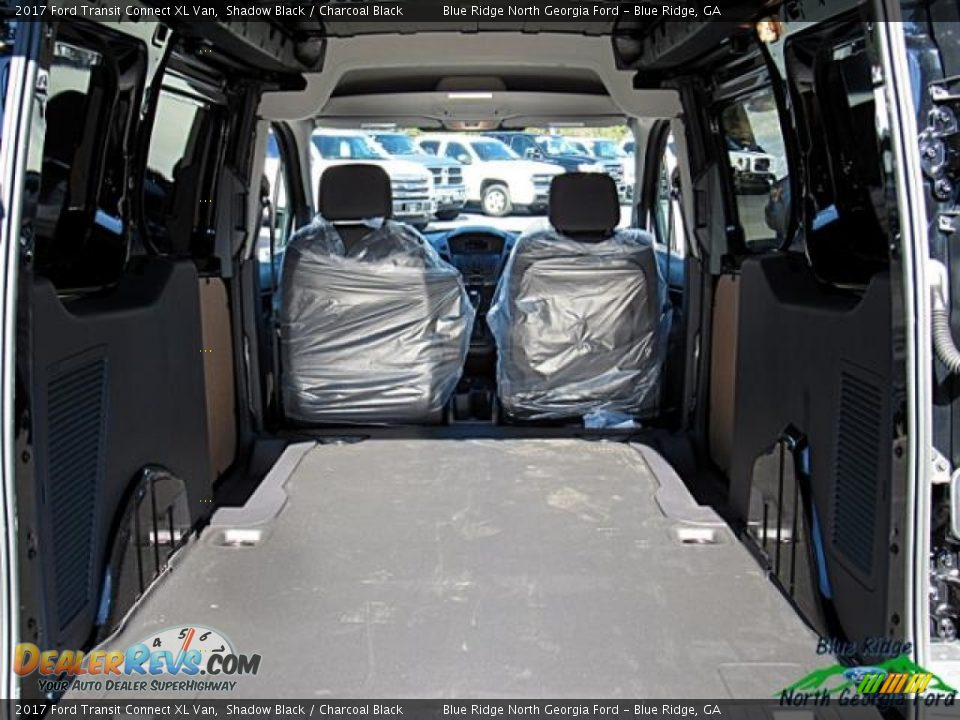 2017 Ford Transit Connect XL Van Shadow Black / Charcoal Black Photo #24