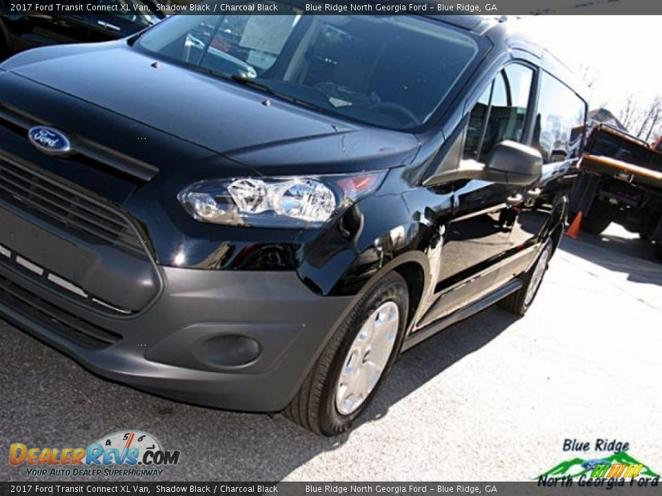 2017 Ford Transit Connect XL Van Shadow Black / Charcoal Black Photo #27
