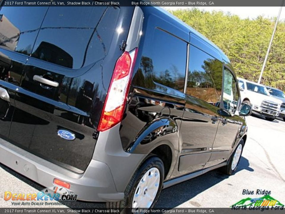 2017 Ford Transit Connect XL Van Shadow Black / Charcoal Black Photo #29
