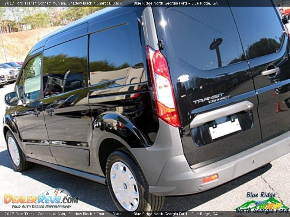 2017 Ford Transit Connect XL Van Shadow Black / Charcoal Black Photo #30
