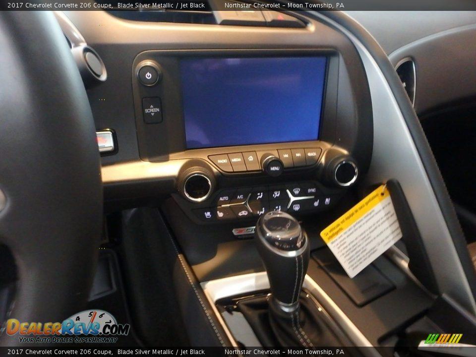 Controls of 2017 Chevrolet Corvette Z06 Coupe Photo #18