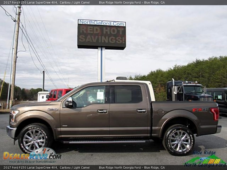 2017 Ford F150 Lariat SuperCrew 4X4 Caribou / Light Camel Photo #2