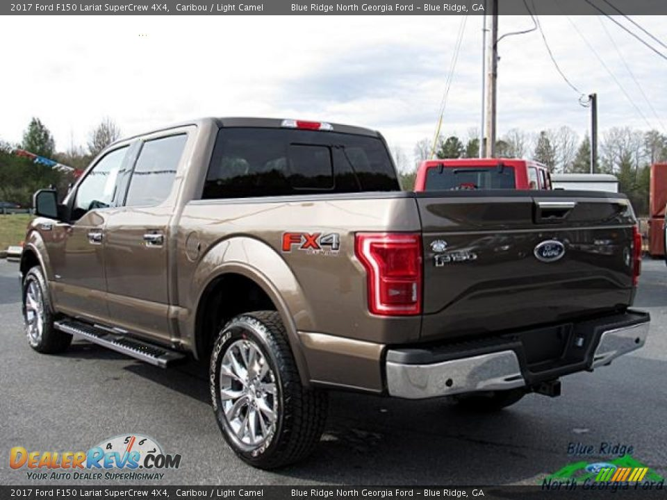 2017 Ford F150 Lariat SuperCrew 4X4 Caribou / Light Camel Photo #3