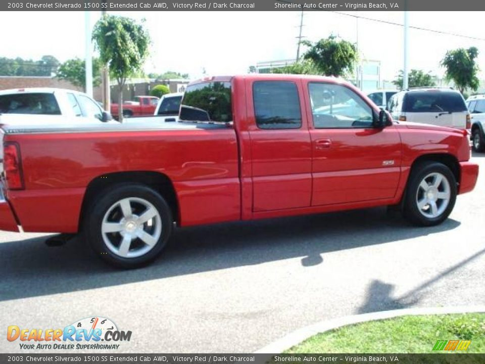2003 chevrolet silverado 1500 ss extended cab awd victory red dark charcoal photo 4. Black Bedroom Furniture Sets. Home Design Ideas