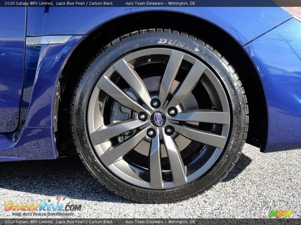 2016 Subaru WRX Limited Wheel Photo #8