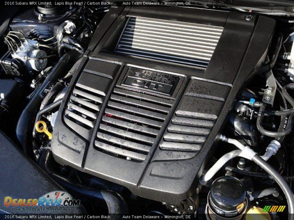 2016 Subaru WRX Limited 2.0 Liter DI Turbocharged DOHC 16-Valve VVT Horizontally Opposed 4 Cylinder Engine Photo #33