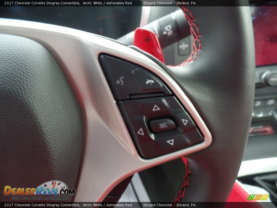 Controls of 2017 Chevrolet Corvette Stingray Convertible Photo #17