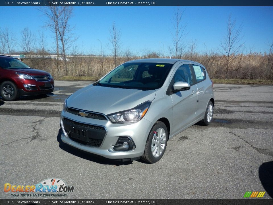 2017 Chevrolet Spark LT Silver Ice Metallic / Jet Black Photo #1