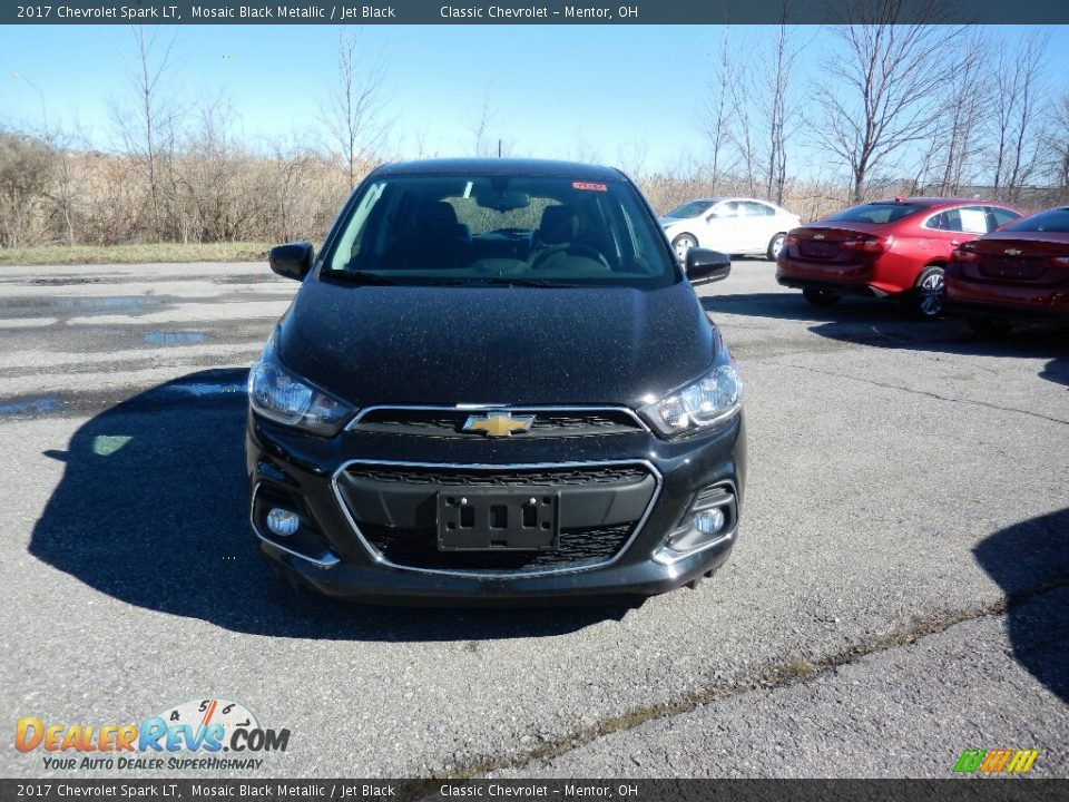 2017 Chevrolet Spark LT Mosaic Black Metallic / Jet Black Photo #2