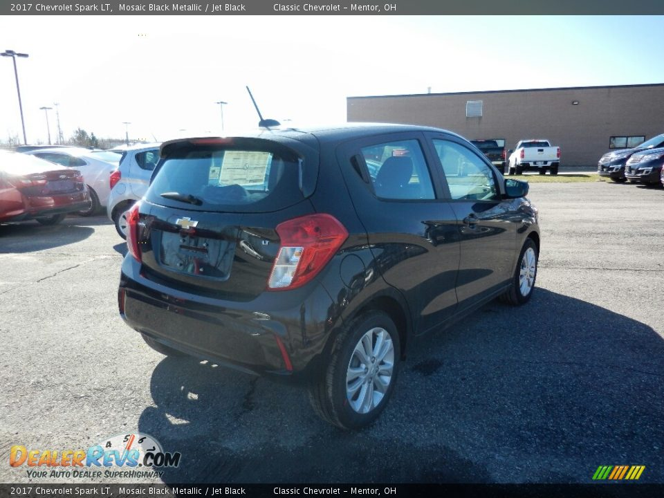 2017 Chevrolet Spark LT Mosaic Black Metallic / Jet Black Photo #4