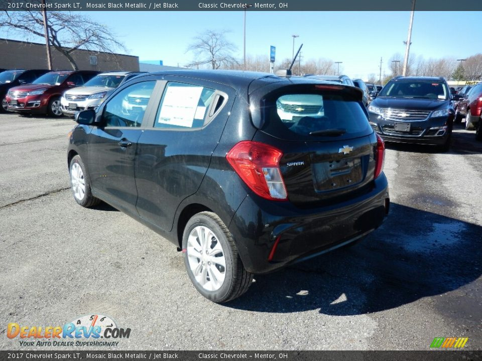2017 Chevrolet Spark LT Mosaic Black Metallic / Jet Black Photo #5