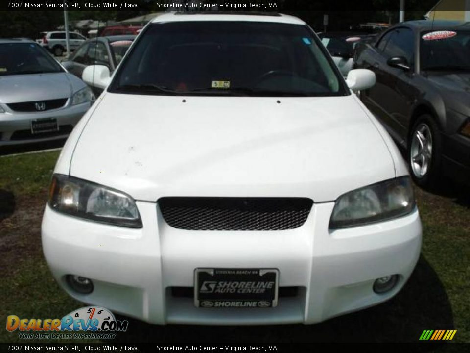 2002 nissan sentra se r cloud white lava photo 6. Black Bedroom Furniture Sets. Home Design Ideas