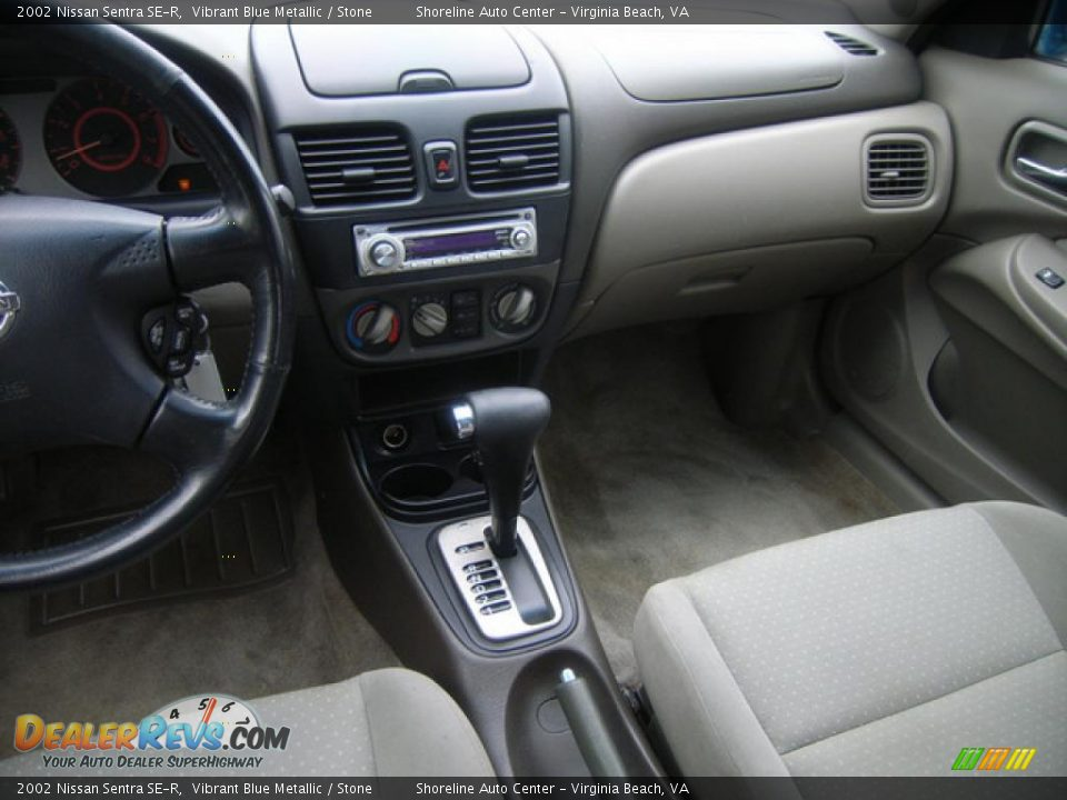 2002 nissan sentra se r vibrant blue metallic stone. Black Bedroom Furniture Sets. Home Design Ideas